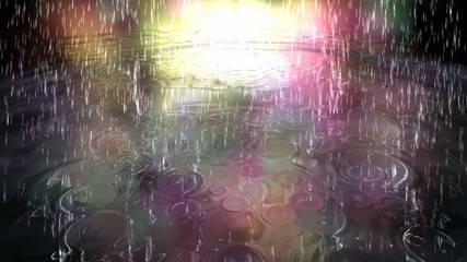 Surreal Rain Animation