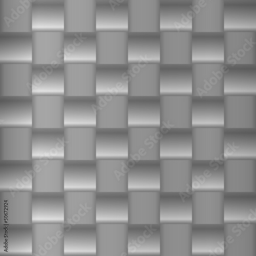 Brushed metal geometric pattern