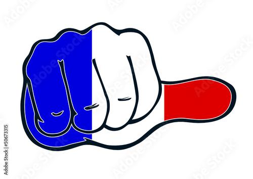 Daumen neutral für Frankreich