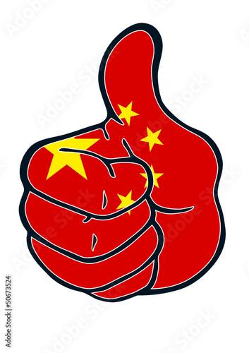 Daumen hoch für China