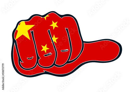 Daumen neutral für China
