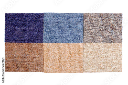 Samples of Carpets
