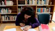 Student underlining script
