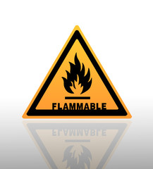 Fire sign warning
