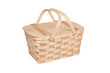 Picnic Basket on White