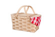 Picnic basket and table cloth