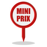 Pointer rot MINI PRIX