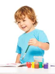 Happy smiling kid