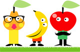 Funny fruit family