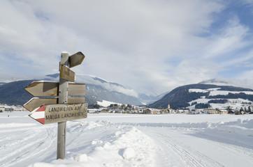 Neve in Trentino