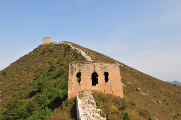 The north of the ancient Great Wall original, China