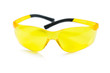 an yellow safety glasses