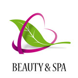 Vector logo beauty and spa