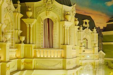 Decoration in banquet hall