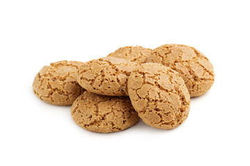 heap of almond cookies