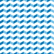 Aztec Chevron blue seamless vector pattern zigzag background