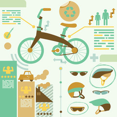 Infographic Elements/bicycle