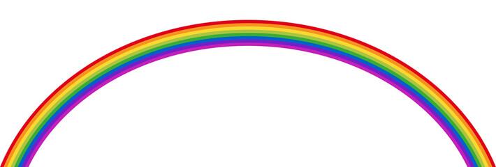 Darstellung eines Regenbogens – Vektor und freigestellt