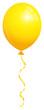 Single Yellow Balloon