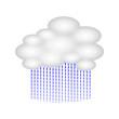 wettersymbol regenwolke I