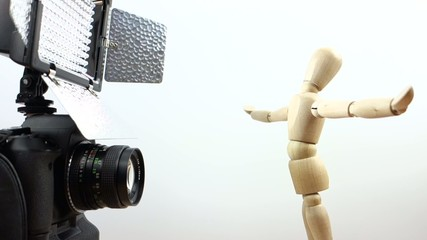 DSLR Footage w. Figure - static