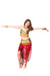 Beautiful eastern belly dancer
