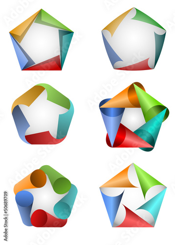 Pentagon icons