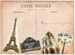 Carte postale ancienne, paris
