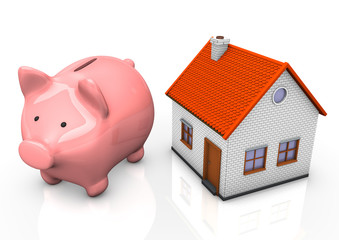 House Piggy Bank