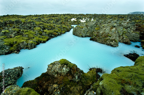 Plexiglas Antarctica 2 The Blue Lagoon in Iceland