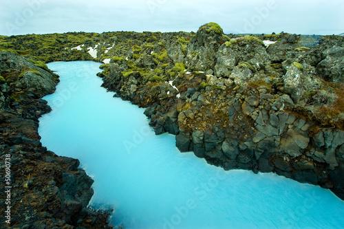 Foto op Plexiglas Antarctica 2 The Blue Lagoon in Iceland
