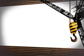 crane hook template