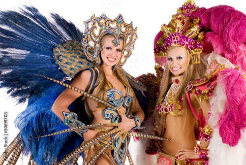 Fototapeten,karneval,samba,tanzenfeiern,frau