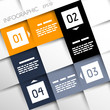 square infographic four options