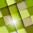 green square shadow background