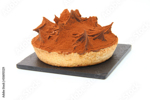 Beau gâteau au chocolat