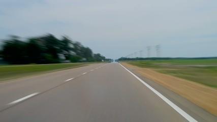 Autobahn, rasen