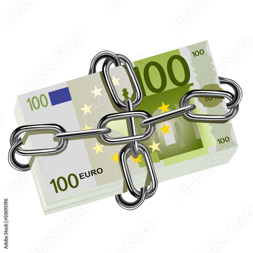 euro incatenato