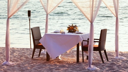 A good place for romantic dinner