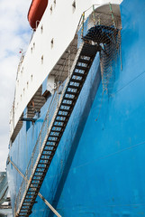 mooring ladder