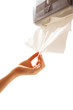 Cleaning Up  with Absorbent Paper Towel