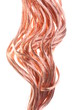 Red copper wires concept of energy power industry