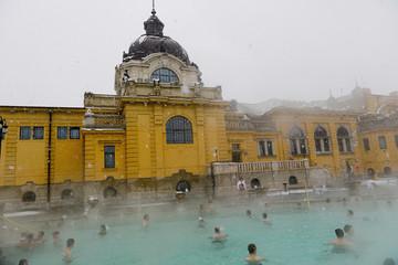 Les termes de Szécheny à Budapest