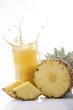succo di ananas con splash