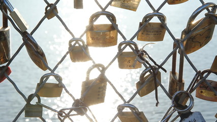Pont des Arts Padlocks.
