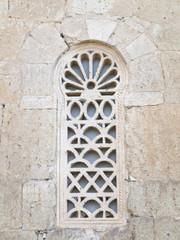 Details window Visigothic church