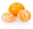 Tangerine, clipping path included