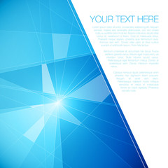 Abstract Geometric Background for Your Text | EPS10 Illustration