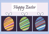 vector card greeting happy Easter