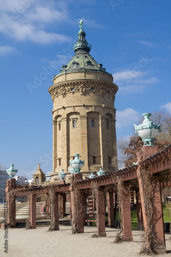 Watter tower in Mannheim, Germany